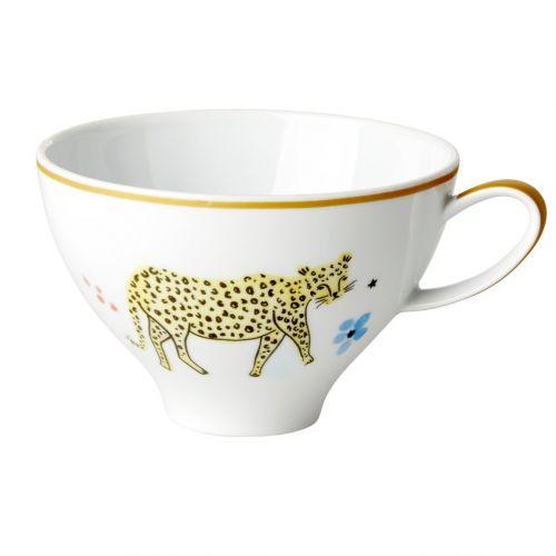 rice / Porcelánová šálka Wild Leopard Print 310 ml