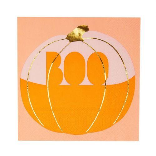 Talking Tables / Papierové obrúsky Pumpkin Napkin - 16 ks
