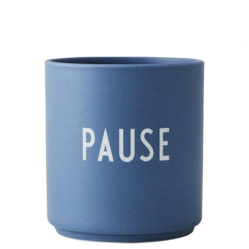 DESIGN LETTERS / Porcelánový hrnček Pause 300ml
