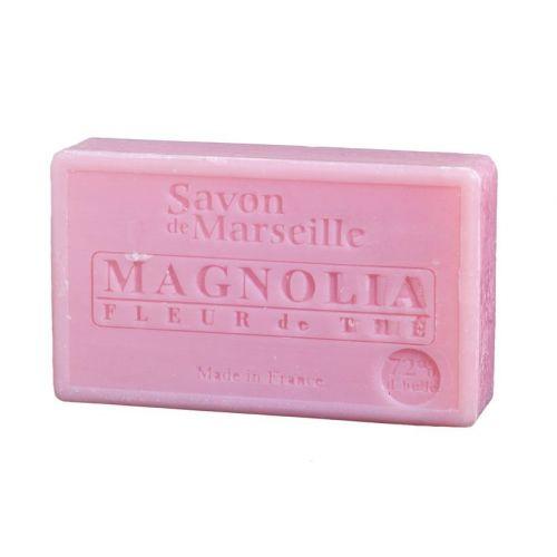 LE CHATELARD / Marseillské mydlo 100 g - magnólia a čajové kvety