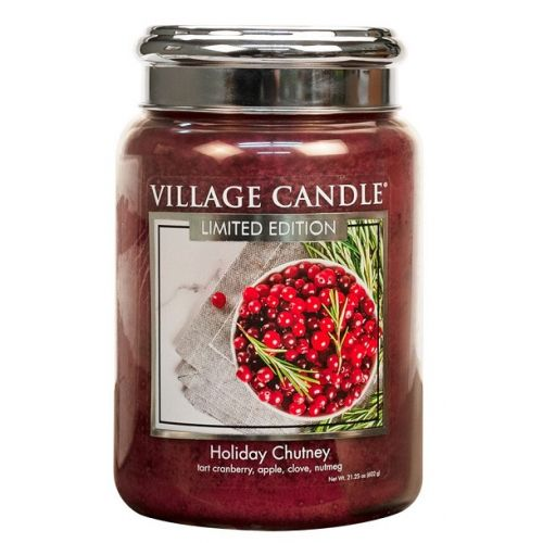 VILLAGE CANDLE / Svíčka Village Candle - Holiday Chutney 602g
