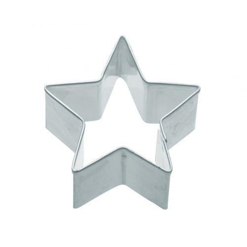 Kitchen Craft / Nerez formička - hviezda 7 cm