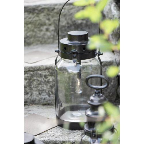 IB LAURSEN / Kovový lampáš Lantern Black 32 cm