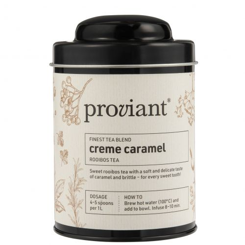 Proviant / Čaj rooibos v dóze Creme Caramel 100 g