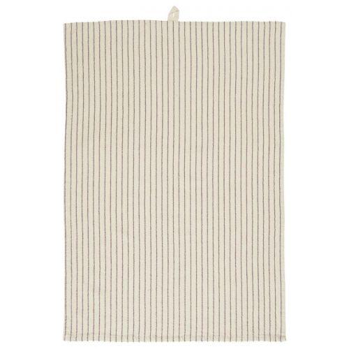 IB LAURSEN / Bavlnená utierka Small Lavender Stripes 50 x 70 cm