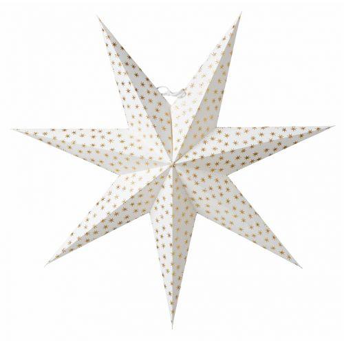 watt & VEKE / Závesná svietiaca hviezda Asta Gold 60 cm