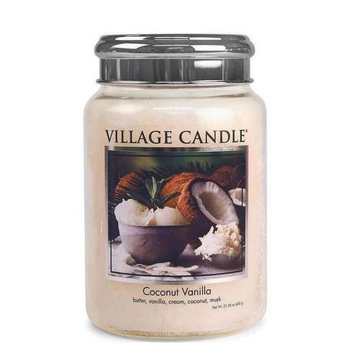 VILLAGE CANDLE / Svíčka Village Candle - Coconut Vanilla 602g