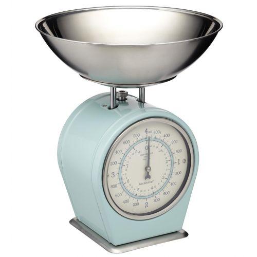 Kitchen Craft / Mechanická kuchynská váha Vintage blue - 4 kg