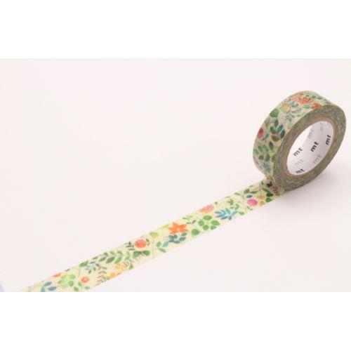 Designová samolepicí páska Retro flower  mt   Designová samolepicí páska  Retro flower ... 98454bfe0f
