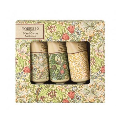 MORRIS & Co. / Darčeková sada mini krémov na ruky Golden Lily