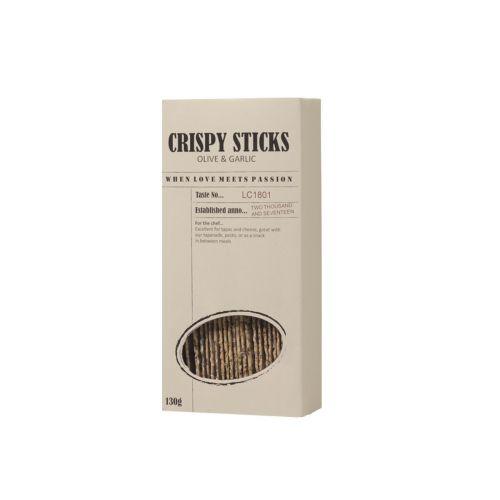 LE CRU Delicacies / Chrumkavý snack Olivy a cesnak 130g