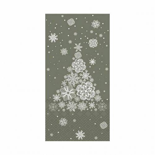 Chic Antique / Papierové servítky Christmas Tree Olive