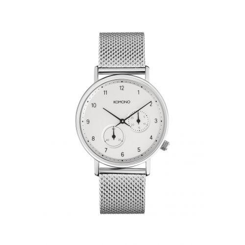 Komono / Unisex hodinky Komono Walther Silver Mesh