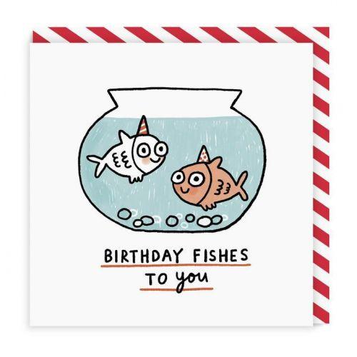 Ohh Deer / Narodeninové prianie Birthday Fishes