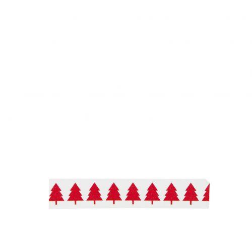 MADAM STOLTZ / Dizajnová samolepiaca páska Xmas trees