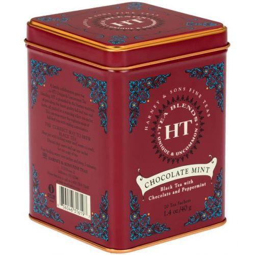 HARNEY & SONS / Čierny čaj Chocolate Mint