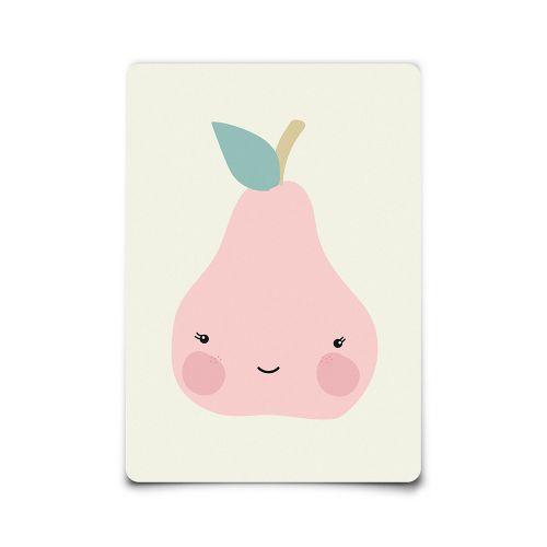 EEF lillemor / Pohľadnica Miss Pear A6