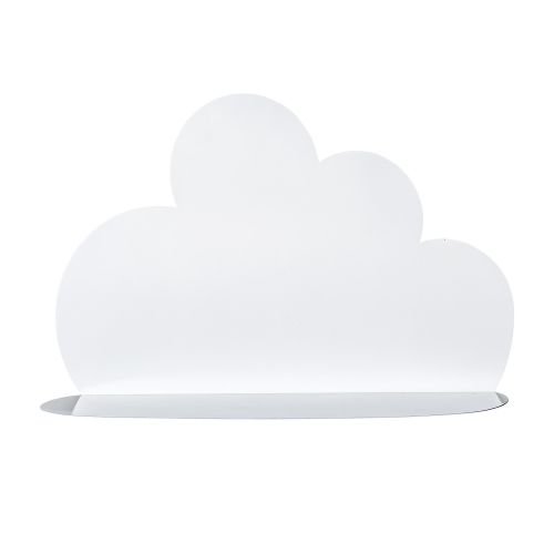 Bloomingville / Kovová polička Cloud White - väčšia