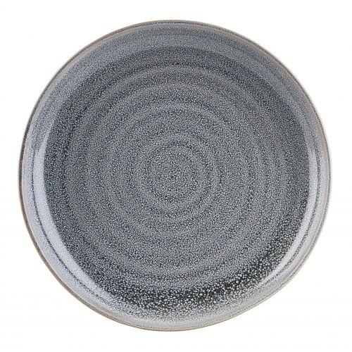 House Doctor / Keramický tanier Nord Grey ⌀ 22 cm