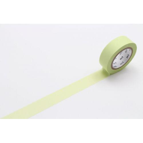 mt / Dizajnová samolepiaca páska Pastel Lime