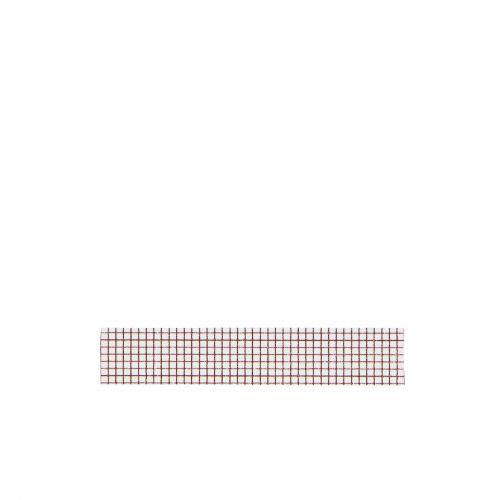 MADAM STOLTZ / Designová samolepící páska Squared white/brown