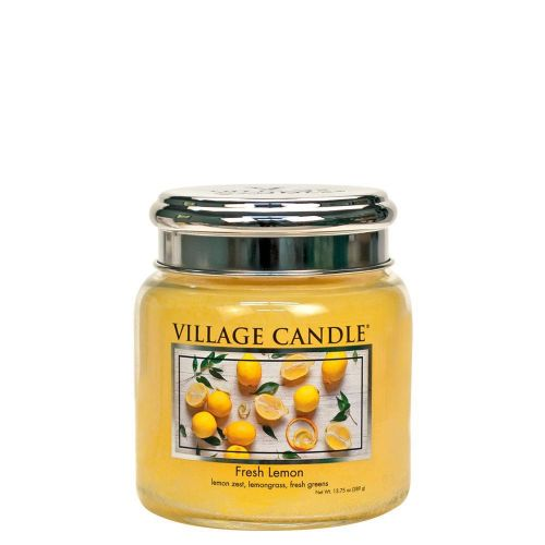 VILLAGE CANDLE / Sviečka Village Candle - Fresh Lemon 389g