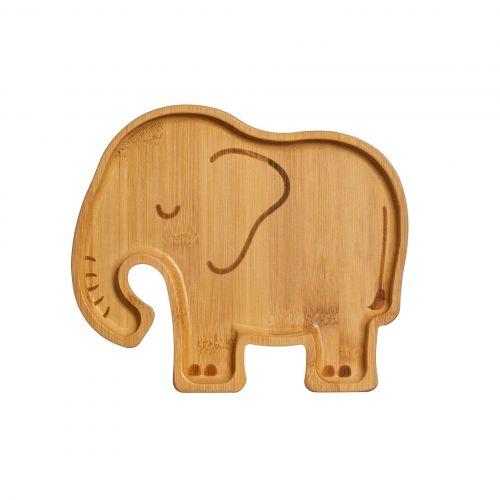 sass & belle / Detský bambusový tanierik Elephant