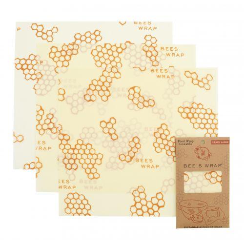 Bee's Wrap / Ekologický potravinový obrúsok Large-3ks