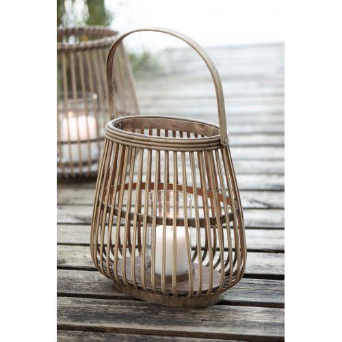 IB LAURSEN / Lampáš Oval Bamboo