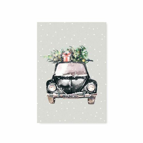 TAFELGUT / Pohľadnica Christmas Car