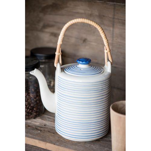 IB LAURSEN / Kanvica Casablanca blue stripe