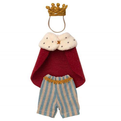 Maileg / Oblek kráľa pre myšky Maileg