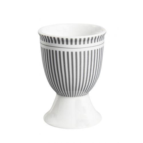 Krasilnikoff / Stojanček na vajíčko Grey Stripes