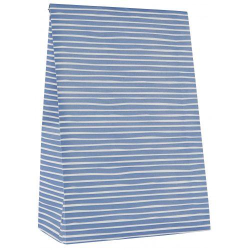 IB LAURSEN / Papierový sáčok Blue Stripe Väčší