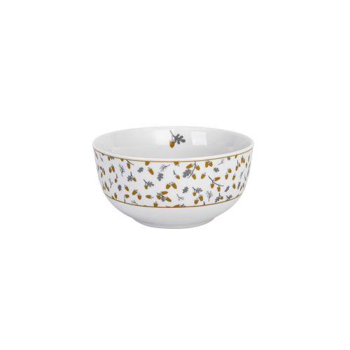 Krasilnikoff / Porcelánová miska Golden Acorn