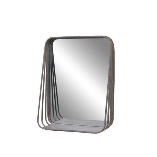 Chic Antique / Nástenné zrkadlo s poličkou Factory