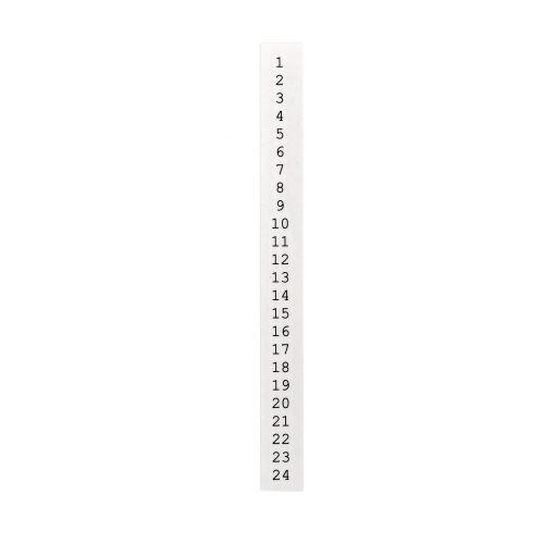 Bloomingville / Adventní nálepka na svíčku 20 cm (1-24)