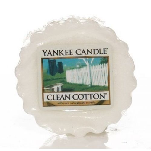 Yankee Candle / Vosk do aromalampy Yankee Candle - Clean Cotton