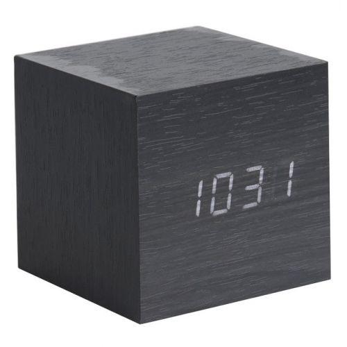 Karlsson / Designový budík Mini Cube Black
