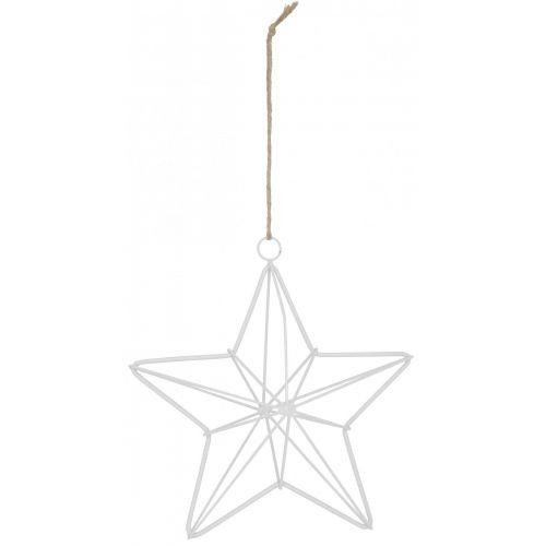 IB LAURSEN / Závesná kovová hviezda White
