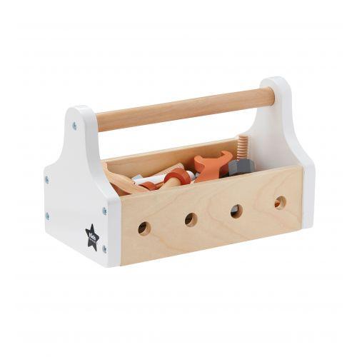 Kids Concept / Detská drevená sada náradia Little Handyman