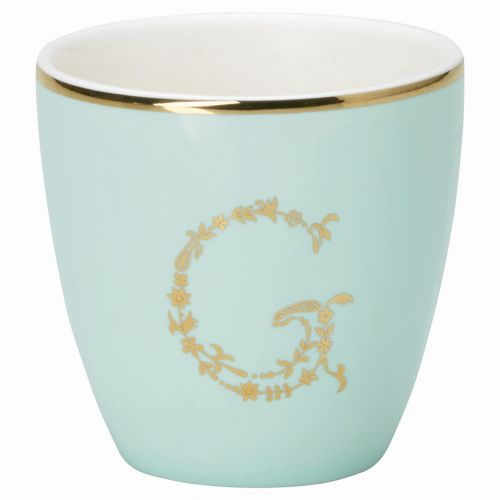 GREEN GATE / Mini latte cup G mint