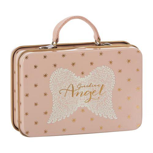 Maileg / Plechový kufrík Rose Gold Stars