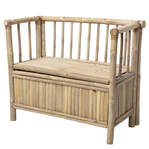 Bloomingville / Bambusová lavica s úložným priestorom Nature Bamboo