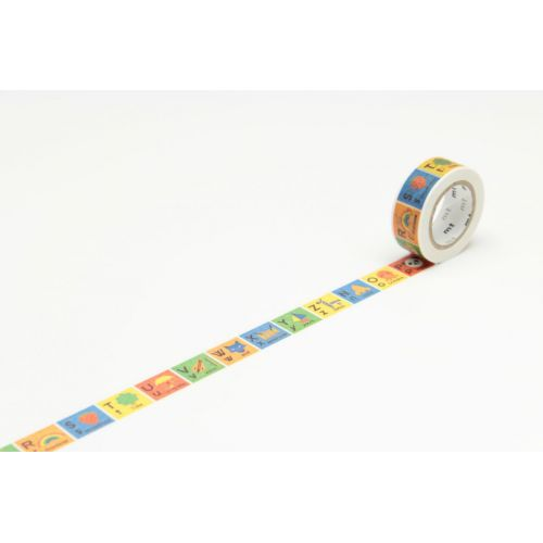 mt / Designová samolepící páska Alphabet N-Z