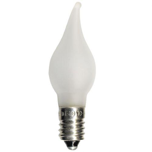 STAR TRADING / Náhradná LED žiarovka-plamienok E10 0,2 W - 3 ks