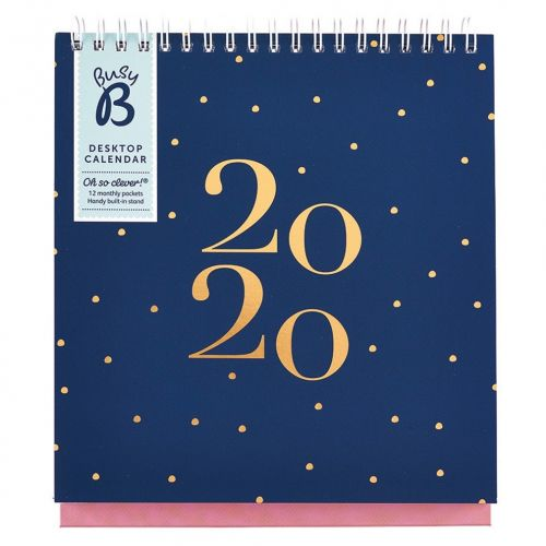 Busy B / Stolný kalendár Sorbet Shores 2020
