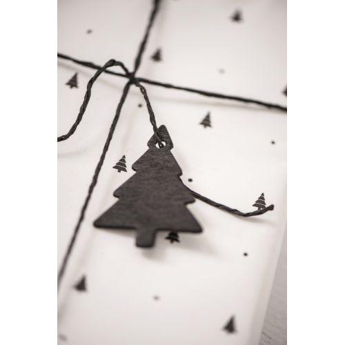 IB LAURSEN / Dekoratívny stromček - čierny