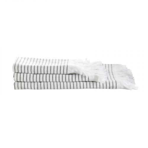 Tine K Home / Pruhovaný uterák Pinstripe 50 x 100 cm