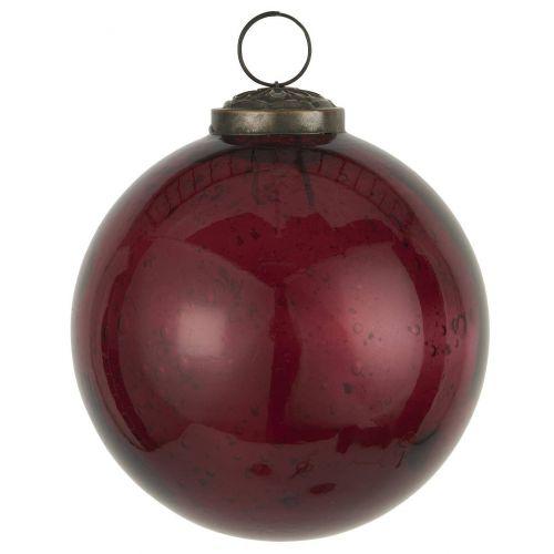 IB LAURSEN / Vianočná banka Pebbled Glass Rhododendron - 9,5 cm